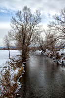 Carson River in Winter