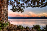 Lake Almanor Fall Sunrise